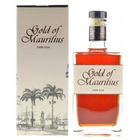 rhum gold mauritus 40%