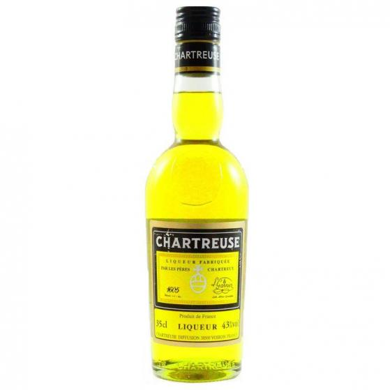 Chartreuse Santa Tecla Jaune 2016 43% - Liqueurs de la grande Chartreuse